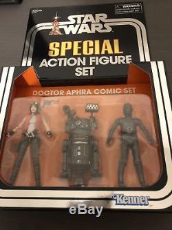 000 /& BT-1 NEW Star Wars SDCC 2018 Vintage Collection Dr Aphra