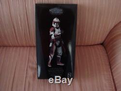 Star Wars Sideshow Commander Fox Coruscant Guard 2012 Comic Con1/6th scale MISB