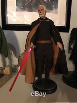Star Wars Sideshow Count Dooku Premium Format Figure