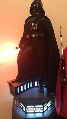 Star Wars Sideshow Darth Vader Premium Format Statue 1/4 Scale Light Up Base