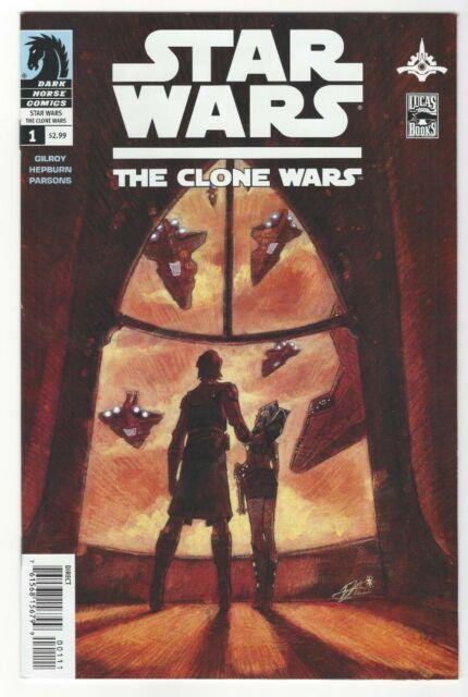 Star Wars The Clone Wars #1-12 + Fcbd 1st Ahsoka Tano The Rise Of Skywalker
