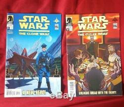 Star Wars The Clone Wars 1-12 set #8 signed