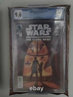 Star Wars The Clone Wars #1 1st Ahsoka Tano CGC 9.6 NM+ Dark Horse