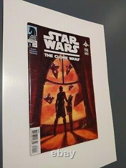 Star Wars The Clone Wars #1 (2008) 1st Ahsoka Tano! VG+ to FN+