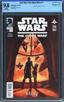 Star Wars The Clone Wars #1 (2008) CBCS 9.8 First 1st Ahsoka Tano (NOT CGC)