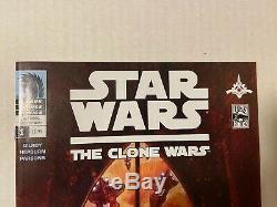 Star Wars The Clone Wars #1, 2008 Dark Horse comic, first Ahsoka Tano appearance