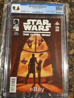 Star Wars The Clone Wars #1 CGC 9.6 1st App Ahsoka Tano Dark Horse