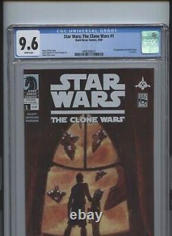 Star Wars The Clone Wars #1 CGC 9.6 1st app Ahsoka Tano in comics