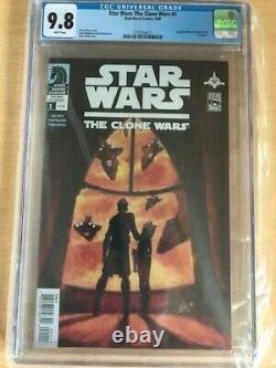 Star Wars The Clone Wars 1 CGC 9.8 1st Ahsoka Tano & Captain Rex THE MANDALORIAN