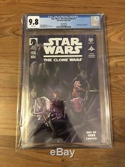 Star Wars The Clone Wars 1 Cgc 9.8 Variant 1st Ashoka Tano Limited 1000