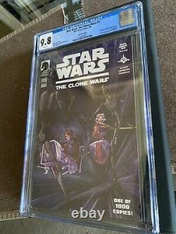 Star Wars The Clone Wars #1, Dark Horse 100 variant, CGC 9.8, 1st Ashoka Tano