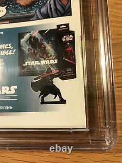 Star Wars The Clone Wars #1, Filoni Variant, DH 100, CGC 9.2 NM-, 1st Ahsoka