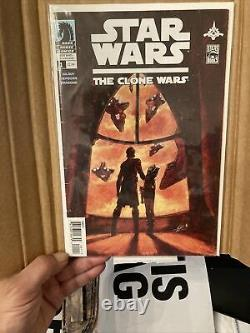 Star Wars The Clone Wars #1 Mandalorian 1st Ahsoka Tano Dark Horse Comics 2008