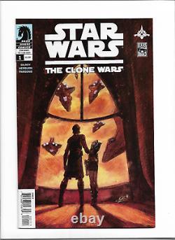 Star Wars The Clone Wars #1 VF-NM Marvel (2008) -1st Ahsoka Tano