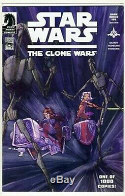 Star Wars The Clone Wars #1 Variant 1st Ahsoka Tano /1000