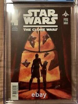 Star Wars The Clone Wars #1 newsstand 1st Ahsoka Tano CGC extremely rare