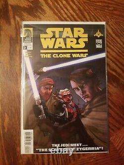 Star Wars The Clone Wars (2008) #1 13 1st Ahsoka Tano Dark Horse comics
