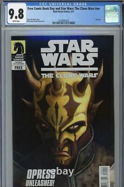 Star Wars The Clone Wars FCBD CGC 9.8 1st Savage Opress