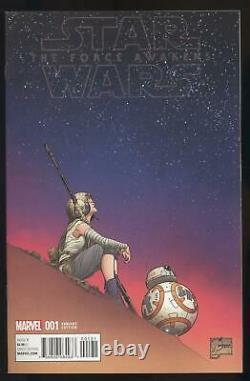 Star Wars The Force Awakens Adaptation #1 1100 Color Joe Quesada Variant