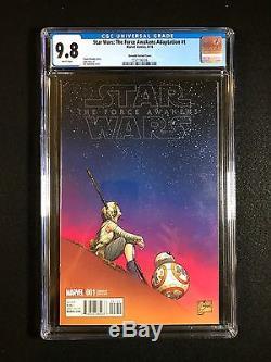 Star Wars The Force Awakens Adaptation #1 CGC 9.8 (2016) Quesada Variant