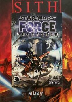 Star Wars The Force Unleashed (2008) Rare Mini Comic Book Dark Horse Comics