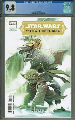 Star Wars The High Republic #1 (2020, Marvel) Hans Variant Cgc 9.8
