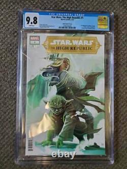 Star Wars The High Republic #1 (Marvel Comics 3/21) Hans Variant Cover CGC 9.8