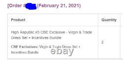 Star Wars The High Republic #3, CBE Exclusive Virgin & Trade Dress 280/600