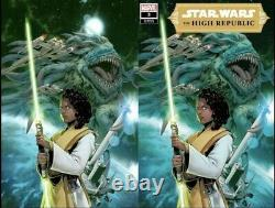 Star Wars The High Republic #3 CBE Exclusive Virgin & Trade Variant Set IN HAND