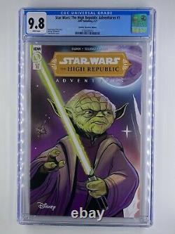 Star Wars The High Republic Adventures #1 CGC 9.8 IN HAND 110 variant NM