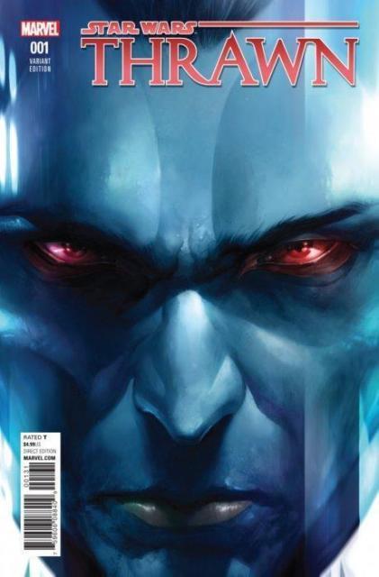 Star Wars Thrawn #1 150 Variant Cover By Francesco Mattina