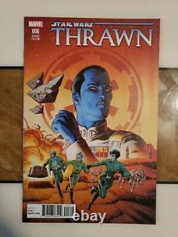 Star Wars Thrawn 1-6 (#1 150 Mattina) (2-6. 125 Variant Set) Super Rare NM