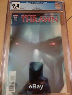 Star Wars Thrawn #1 Mattina Variant 150 NM HTF Marvel CGC 9.4