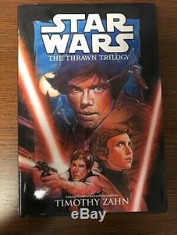 Star Wars Thrawn Trilogy Omnibus Hardcover Timothy Zahn Dark Horse Comics OOP