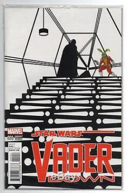 Star Wars Vader Down #1 14999 Zdarsky B&W Sketch Jaxxon Variant, NM 9.4, Scan