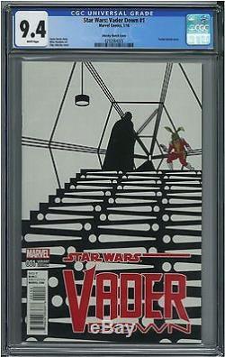 Star Wars Vader Down #1 14999 Zdarsky Sketch Variant Ultra Rare CGC 9.4