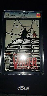 Star Wars Vader Down #1 Zdarsky Sketch Cover 14999 CGC 9.6 Not AFA or Kenner