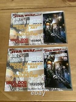 Star Wars War of the Bounty Hunters Alpha #1 CGC 9.8 Devil Dogs Comic Set
