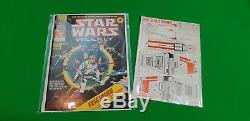 Star Wars Weekly Issue #1 MINT WITH FREE GIFT GRADE 9.0! Marvel UK