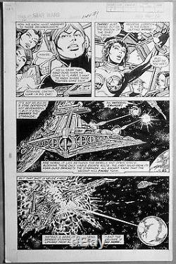 Star Wars Weekly Marvel Original Comic Art Issue by Carmine Infantino