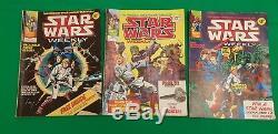 Star Wars Weekly VGC COMPLETE RUN 1-117! Marvel UK Space Fantasy