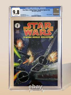 Star Wars X-Wing Rogue Squadron Special (Dark Horse Comics 8/95) CGC Graded 9.8