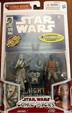 Star Wars exclusive comic packs Nihl Deliah Blue Soontir Fel Jaster Mereel more