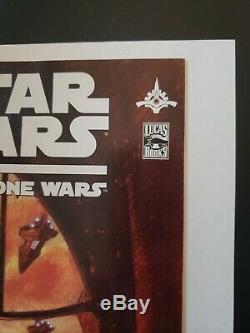 Star Wars the CLONE WARS #1 1st Appearance of Ahsoka Tano Comic
