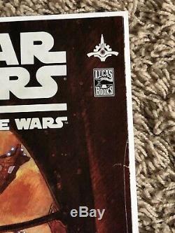 Star Wars the Clone Wars #1- 1st Ahoska Tano Newsstand Variant