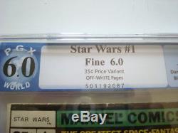 Star wars #1 35 cent variant Graded 6.0