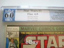 Star wars #1 35 cent variant Graded 6.0 Cheapest one on Ebay