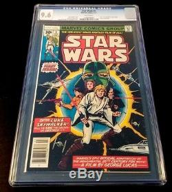 Star wars 1, CGC 9.6, first print, high grade