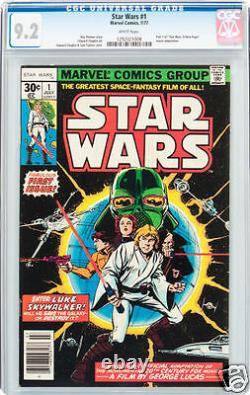 Star wars 1 cgc 9.2