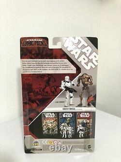 Star wars Comic 2 Pack Tales #22 Clone Commando & Super Battle Droid MISB New